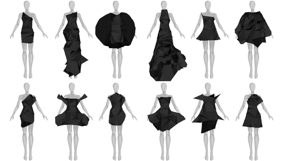 Design Dress Drawing can design an avant garde